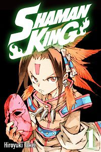 Shaman King 1 cover - Hiroyuki Takei cover