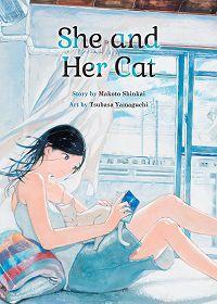 She and Her Cat cover - Shinkai & Yamaguchi