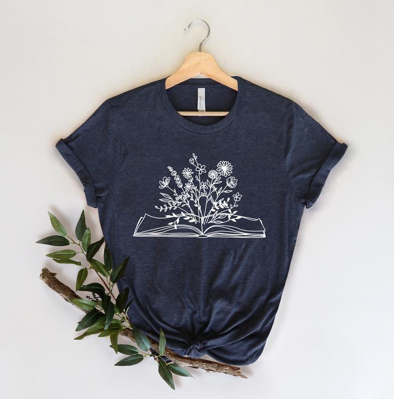 wildflowers book shirt
