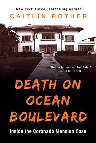 Book cover for Death on Ocean Boulevard