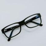 eyeglasses against a white background