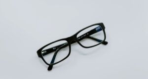 eyeglasses against a white background