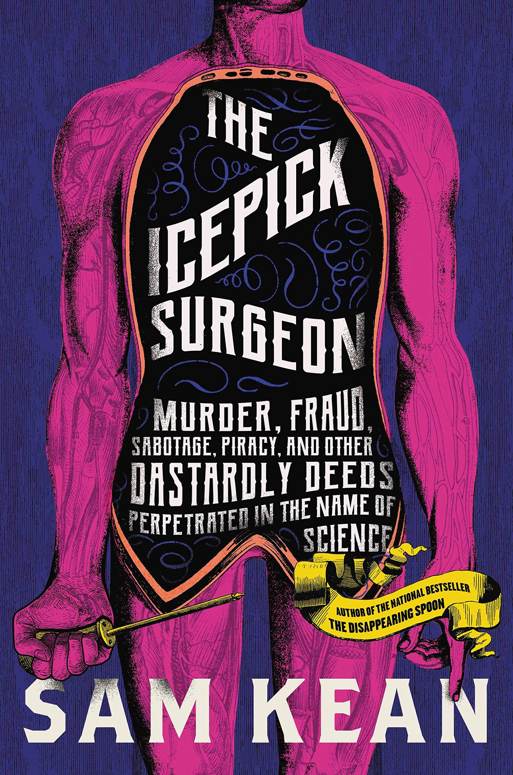 Book cover for The Icepick Surgeon