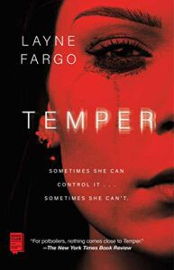 cover image of Temper by Layne Fargo