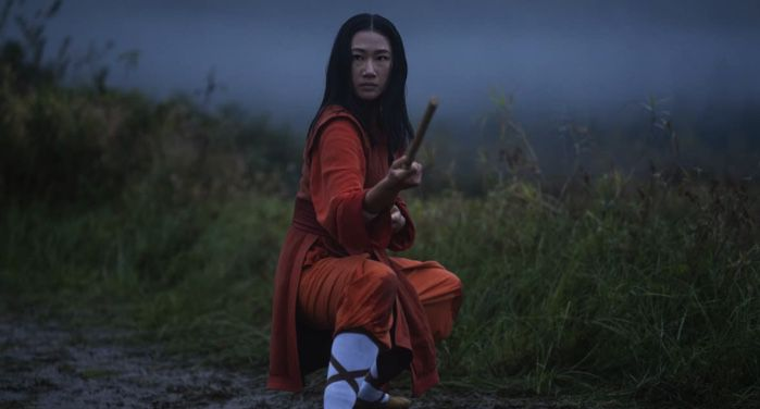image of Olivia Liang in pilot episode of Kung Fu movie reboot https://www.imdb.com/title/tt7475590/mediaviewer/rm4293576961/