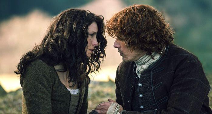 Caitriona Balfe and Sam Heughan in Outlander (2014) https://www.imdb.com/title/tt3006802/mediaviewer/rm2002588672/