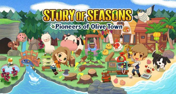 story of seasons pioneers of olive town promo image