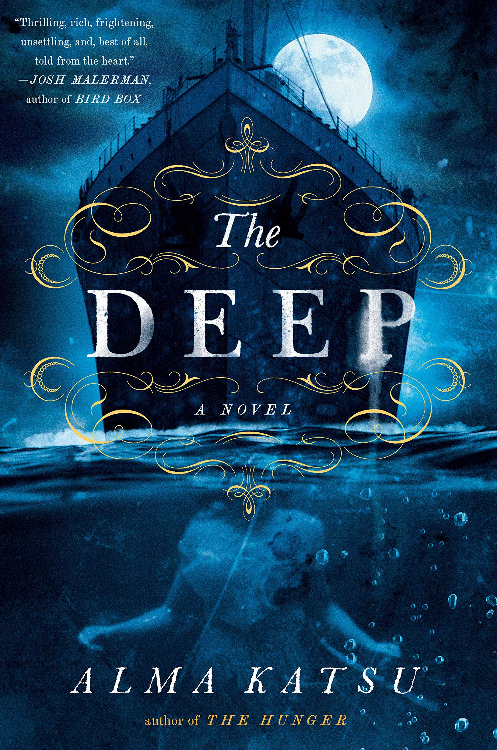 Book cover of The Deep