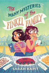 Cover of The Many Mysteries of the Finkel Family by Kapit