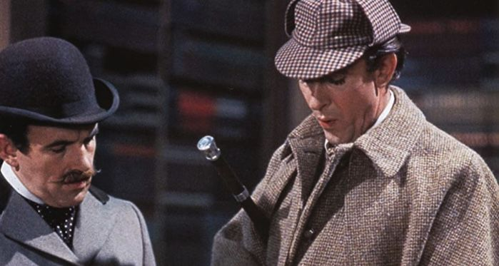 the private life of sherlock holmes film still