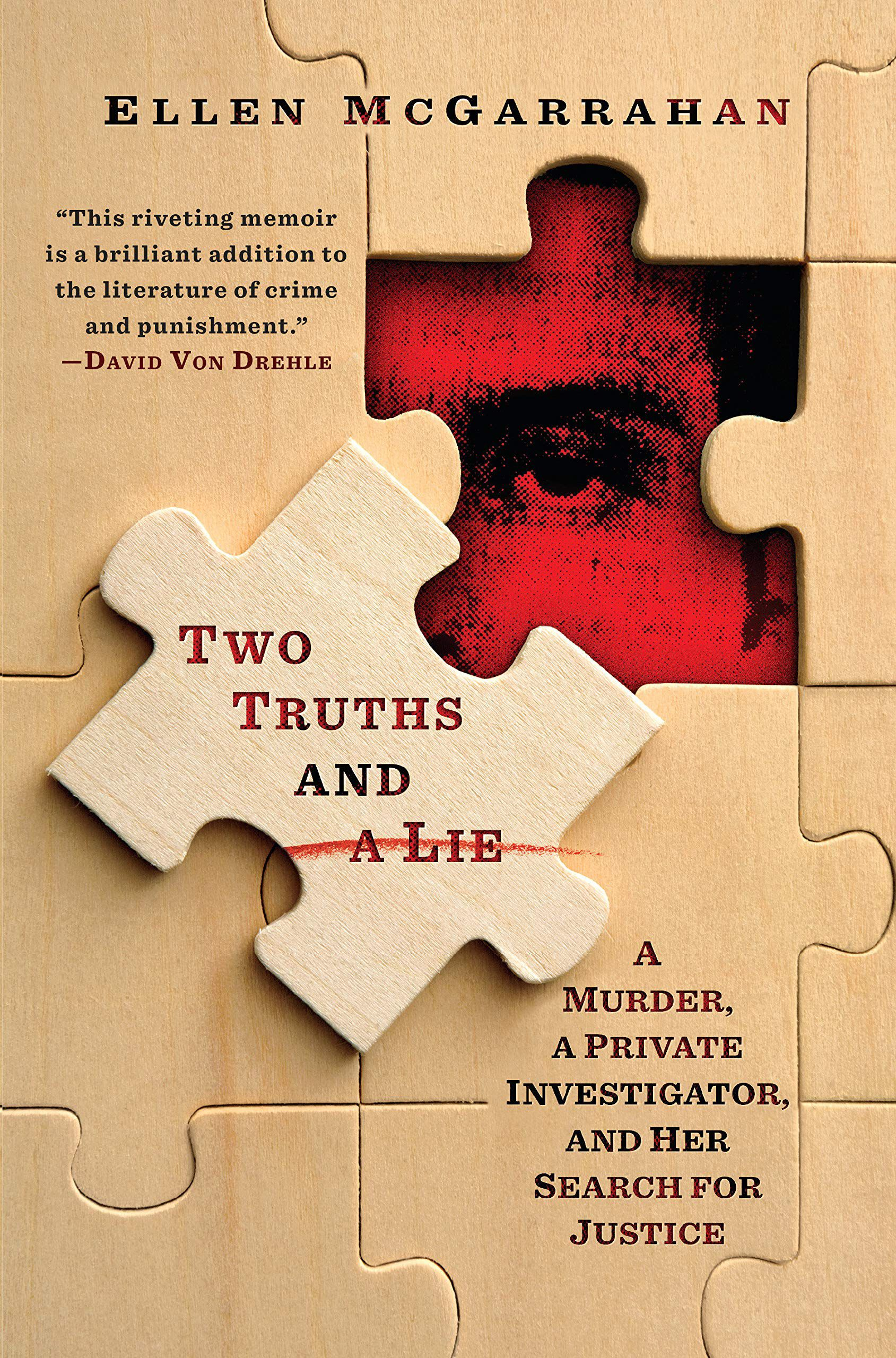 Book cover for Two Truths and a Lie