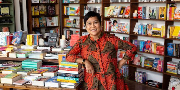 AAPI-Owned Bookstores: Bel Canto Books (image from Bel Canto Books website, used with permission from bookstore owner)