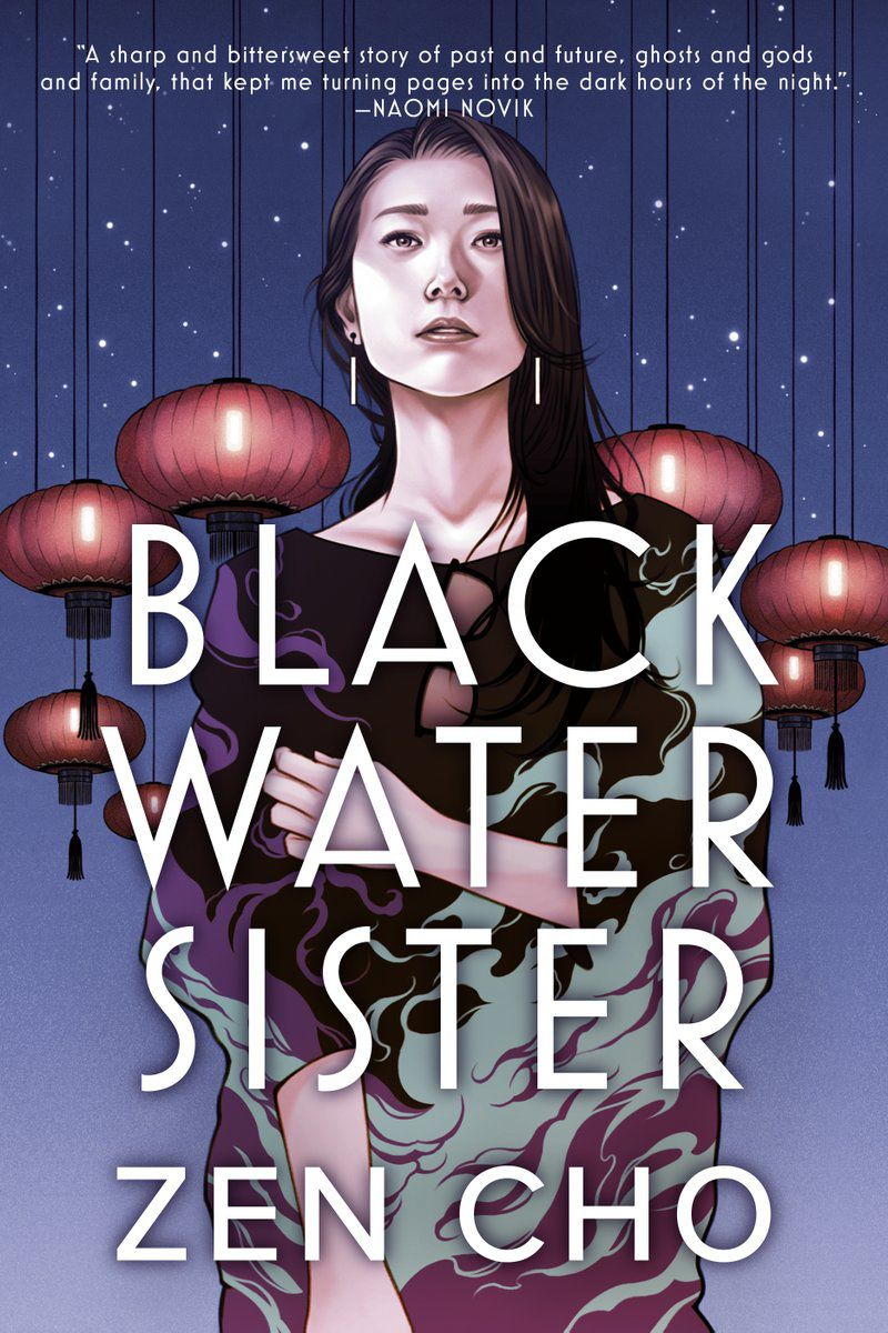 Black Water Sister by Zen Cho cover