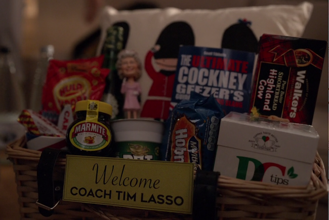 Welcome, Coach Tim Lasso gift basket