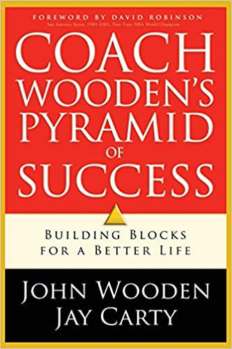 Coach Wooden's Pyramid of Success cover
