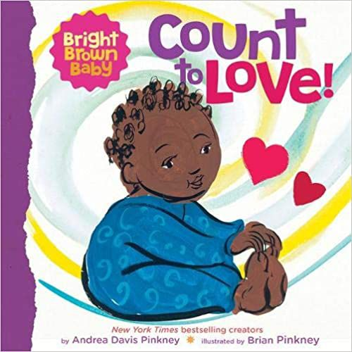 Count to Love baby book cover