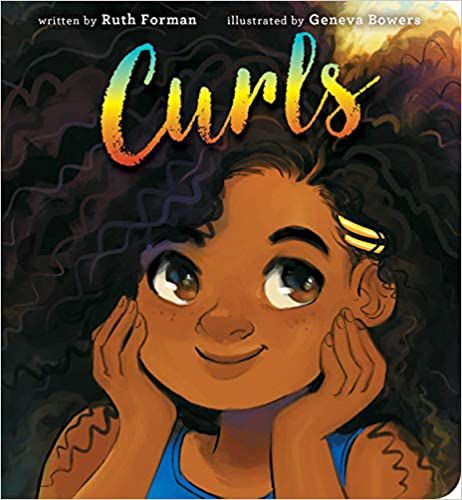 Curls cover baby board book