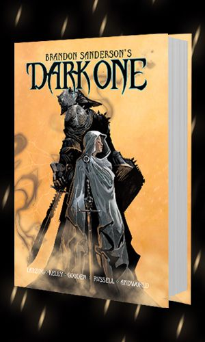 cover image of Dark One by Brandon Sanderson
