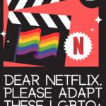 Dear Netflix graphic