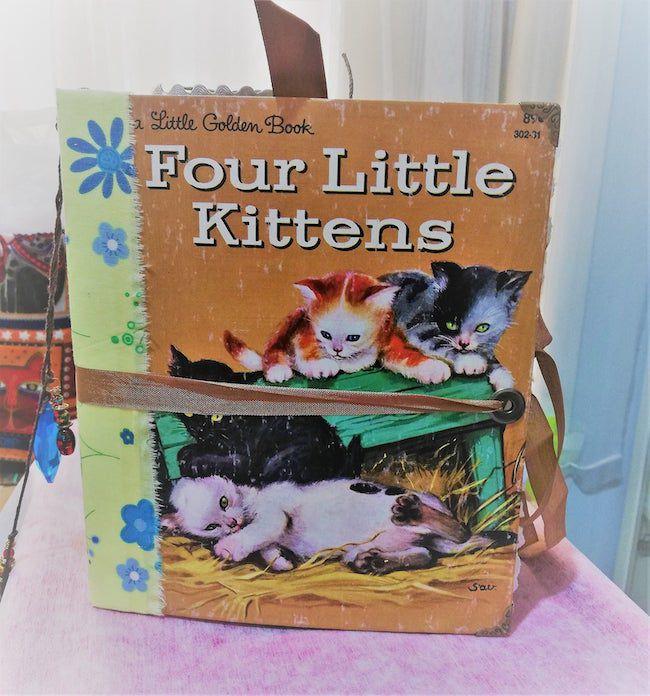 Four Little Kittens junk journal