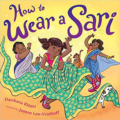 How to Wear a Sari cover