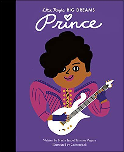 Little People Big Dreams Prince cover