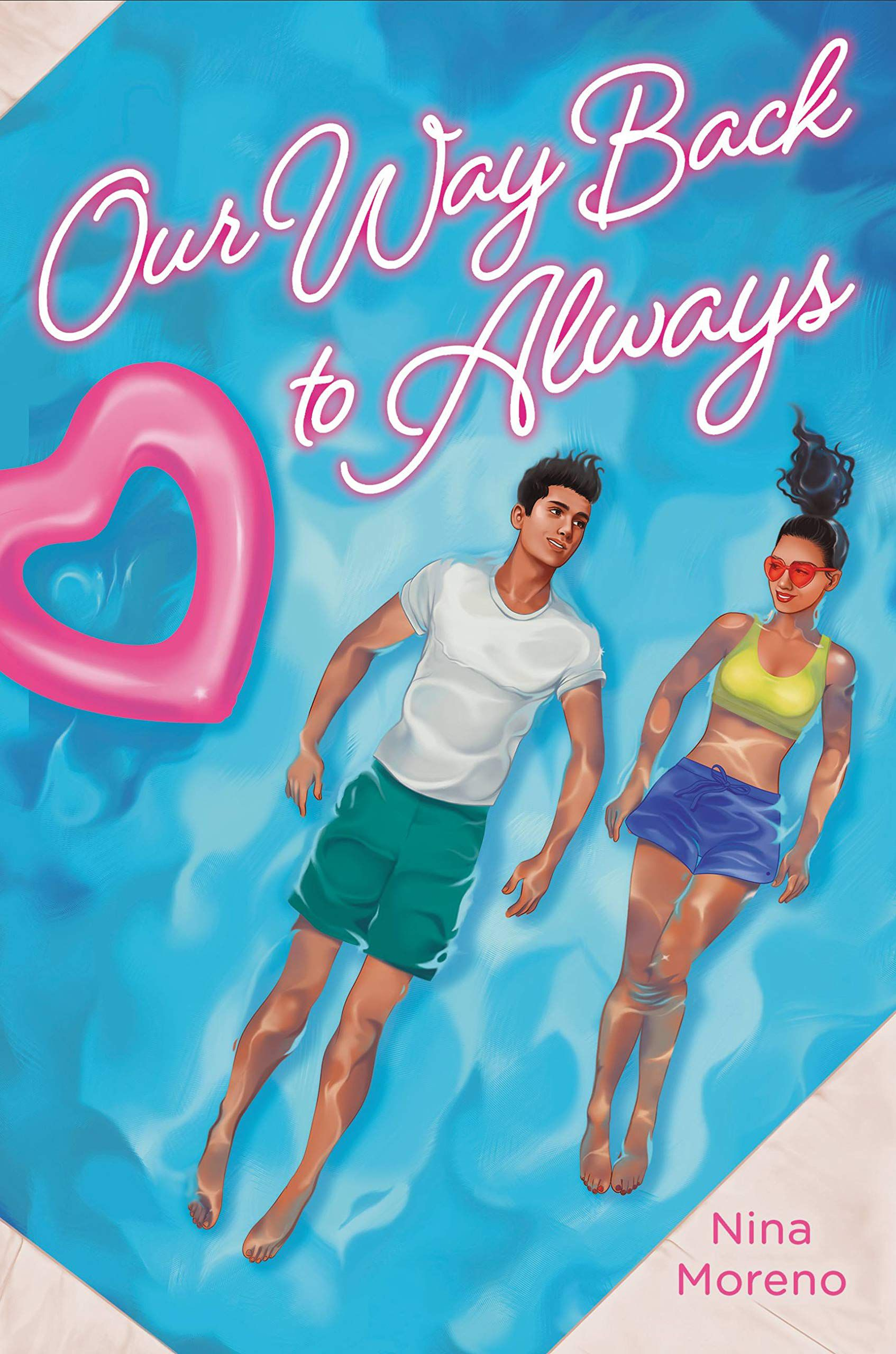 Our Way Back to Always by Nina Moreno book cover