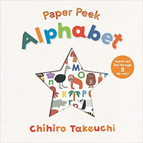 Paper peek alphabet baby board book