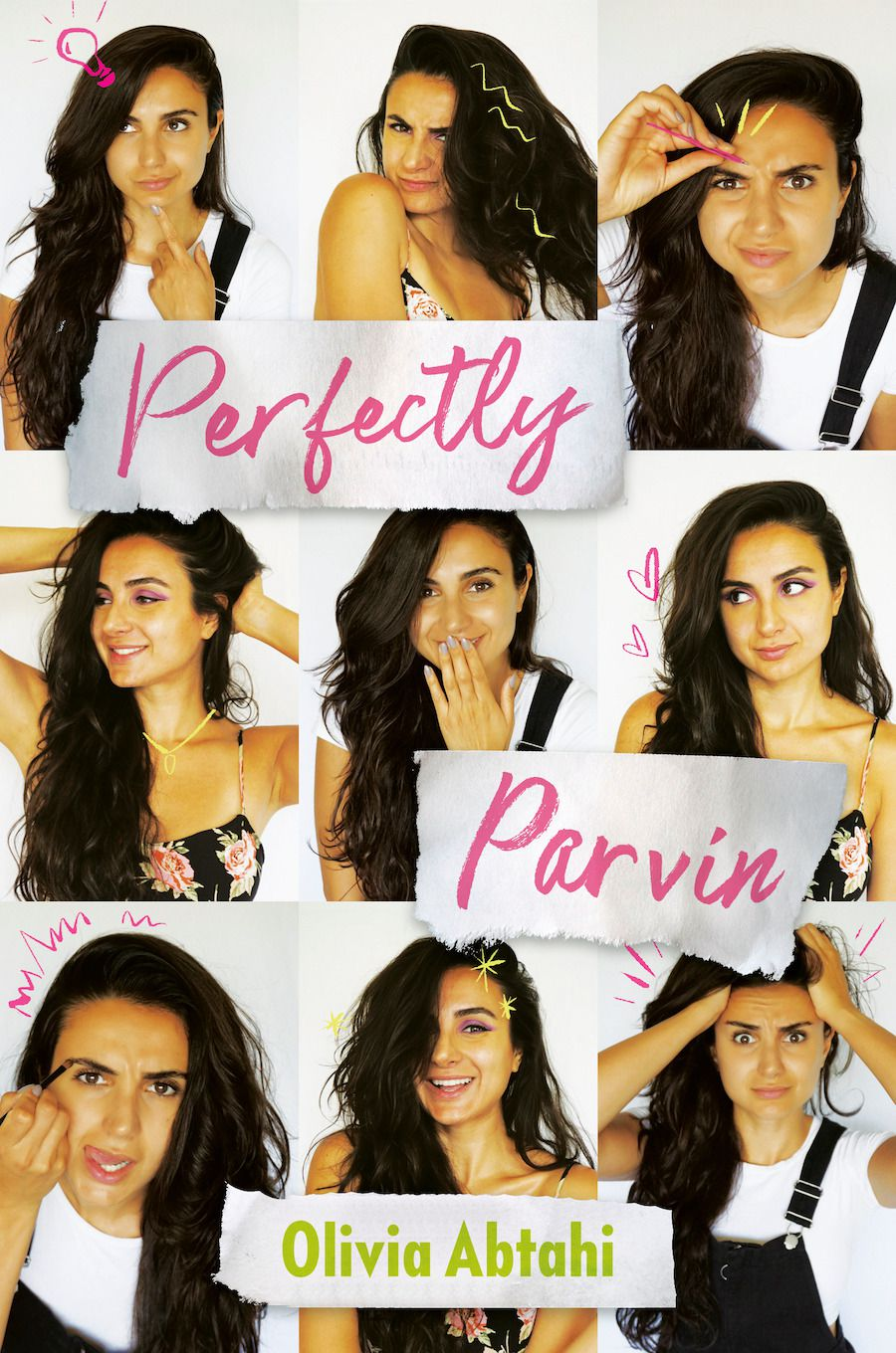 cover image of Perfectly Parvin by Olivia Abtahi