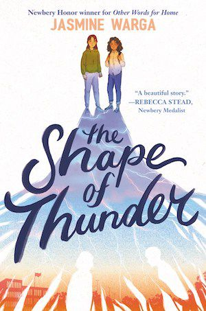 cover image of The Shape of Thunder by Jasmine Warga