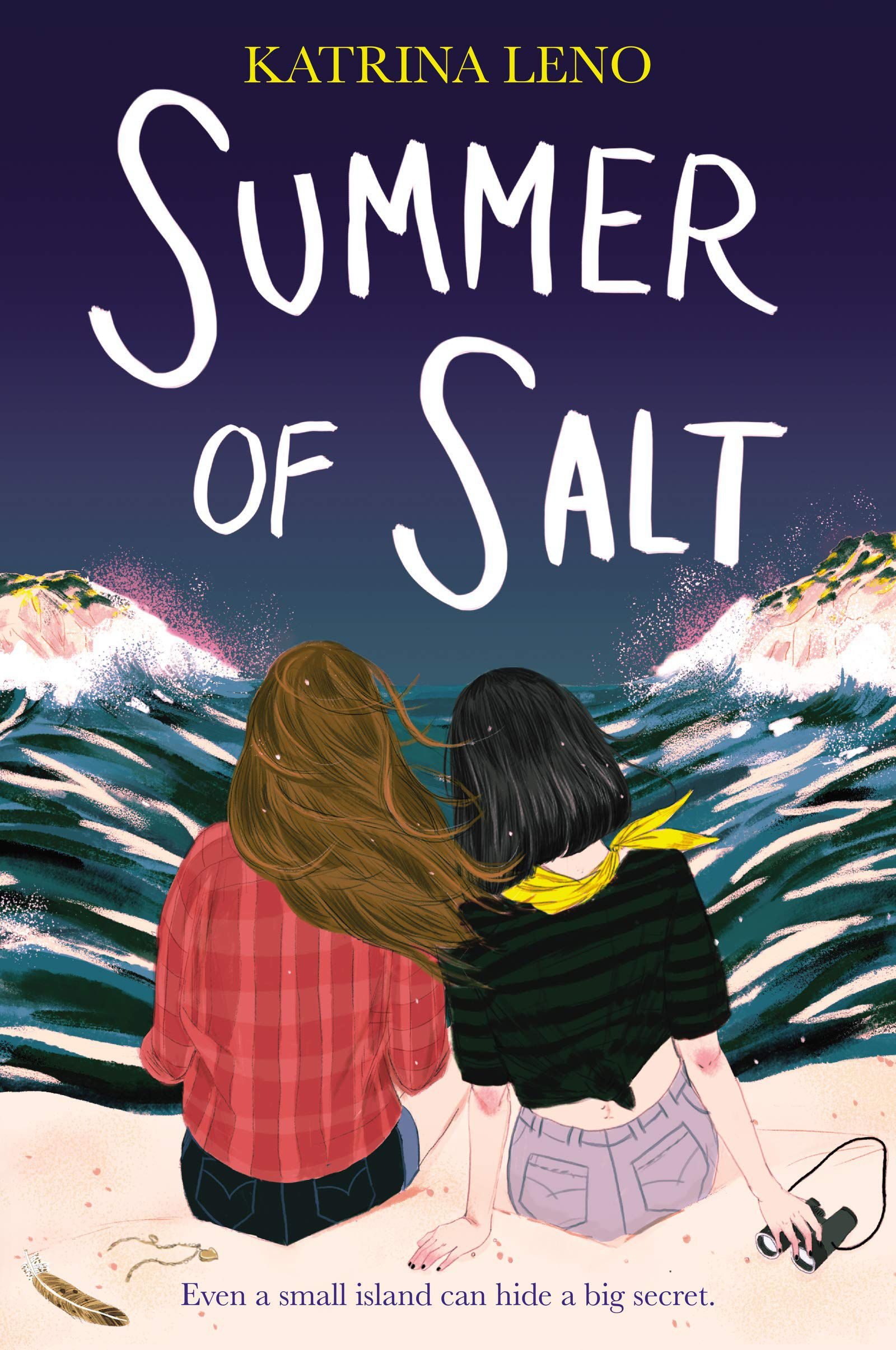 Summer of Salt by Katrina Leno Cover