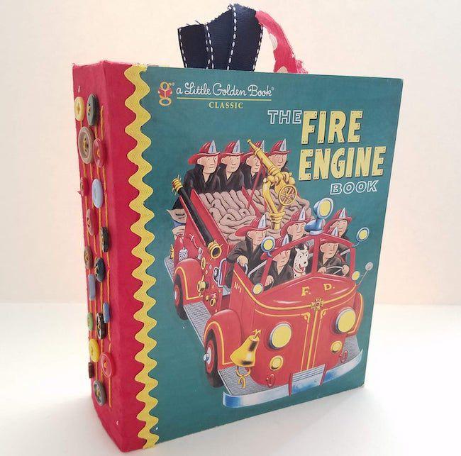 The Fire Engine Book junk journal