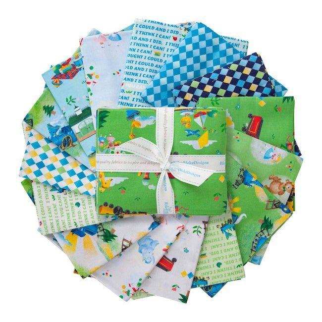 The Little Engine That Could quilt fabric