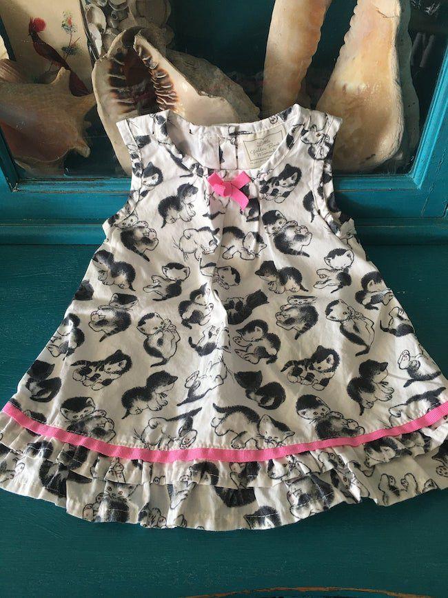 The Shy Little Kitten baby dress