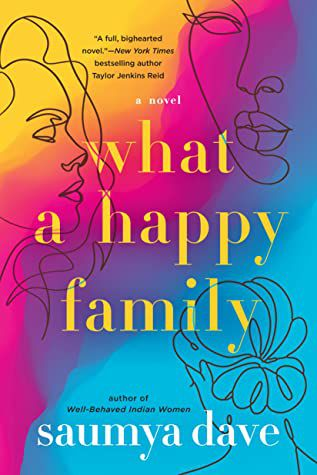 What a Happy Family book cover