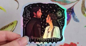 image of a Shadow and Bone sticker