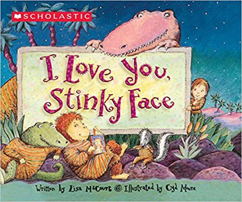 i love you stinky face cover