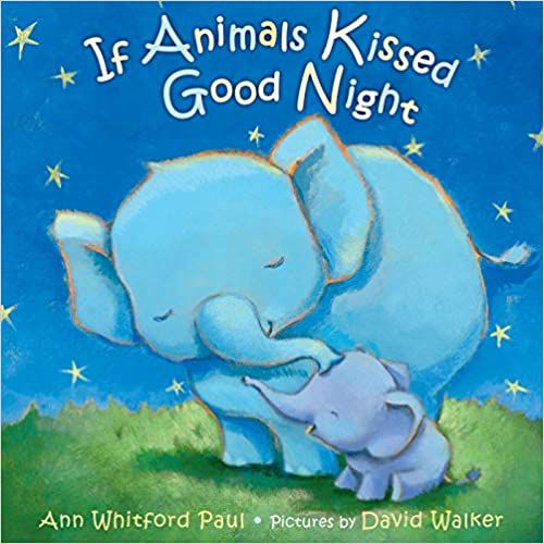 if animals kissed goodnight cover