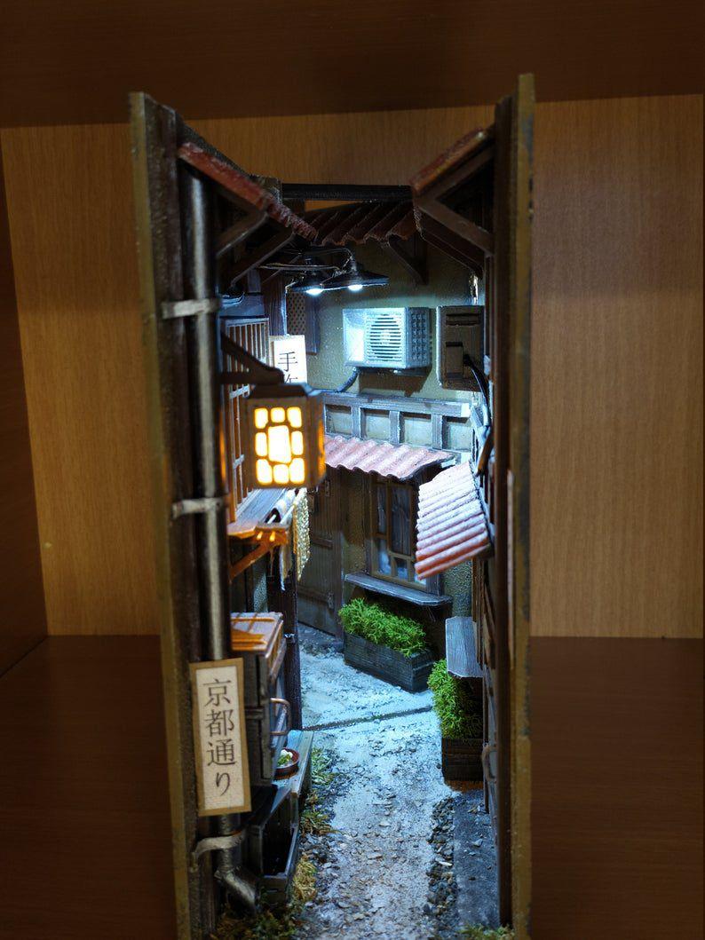 Kyoto alley book nook