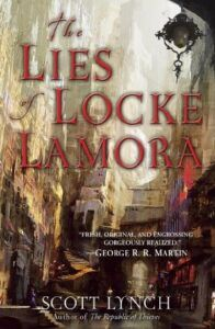 cover image of The Lies of Locke Lamora by Scott Lynch