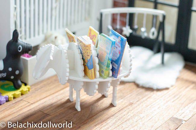 miniature sheep bookcase