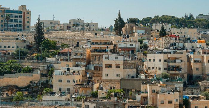 city view of palestine