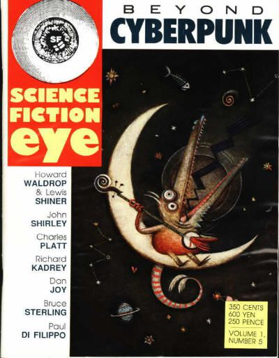 cover image of Science Fiction Eye #5, published in 1989
