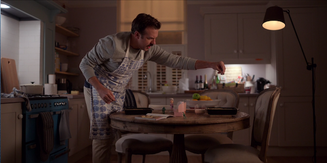 Ted Lasso baking biscuits