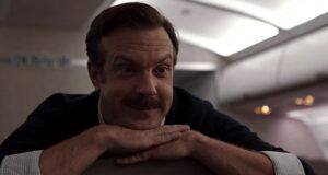 image of Jason Sudeikis in still frame from Ted Lasso