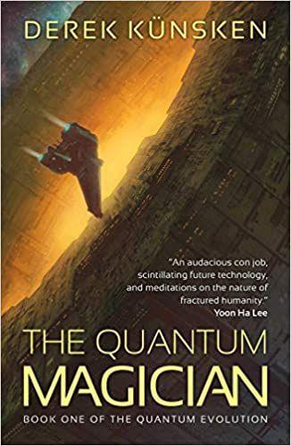 Cover of The Quantum Magician by Derek Künsken