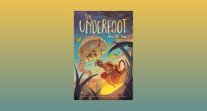 cover image of The Underfoot: Vol 2 against a yellow and sage green gradient backdrop