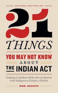 21 Things You May Not Know about the Indian Act cover