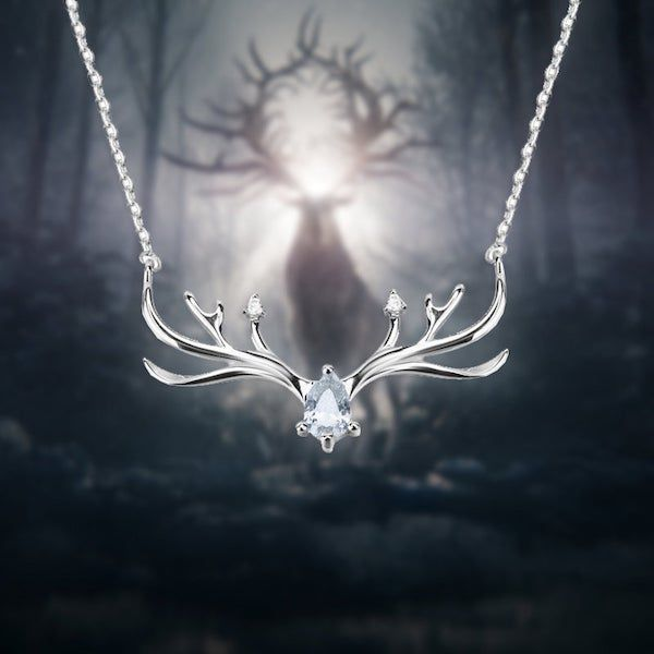 Alina Starkow Amplifier Stag Necklace