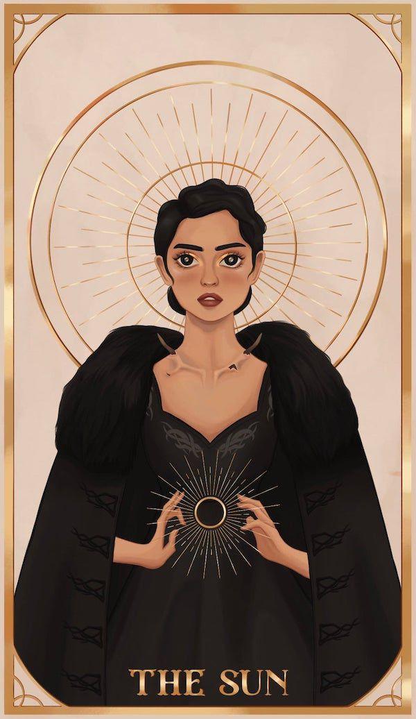 Alina Sun Summoner Tarot sticker